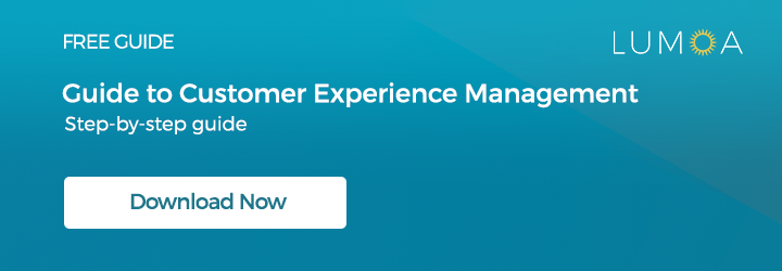 Guide to customer experience management